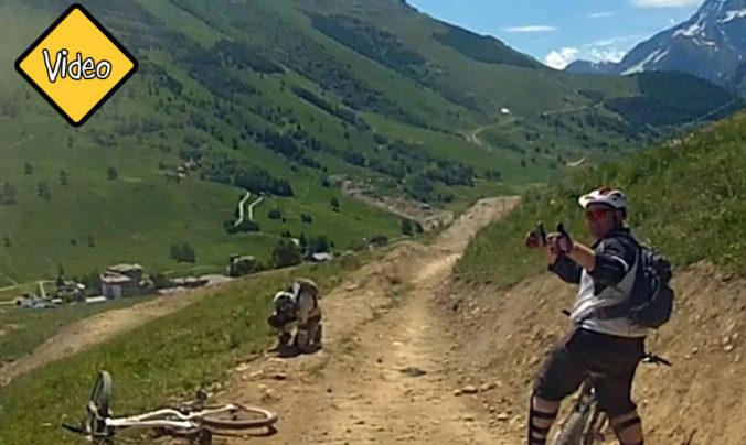 Video alpit maastopyöräily