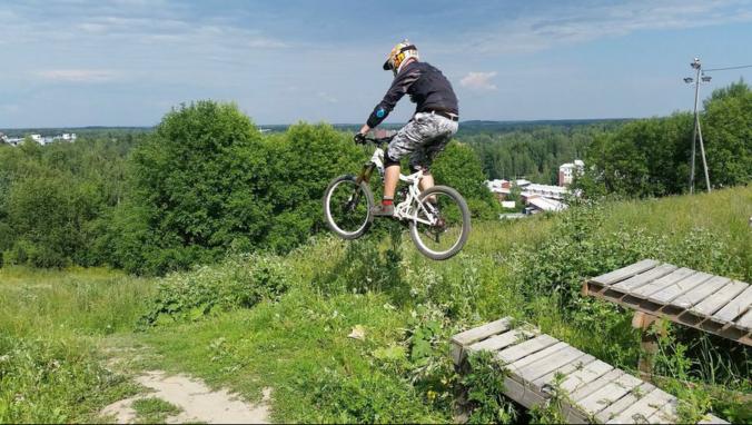 malminkartano downhill hyppy