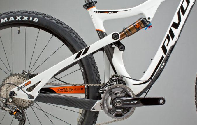 Pivo 429 Trail suspension